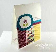 Stampin' Up! Bright Blossoms Stamp Set