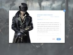 Assassin's Creed Syndicate - Info Card