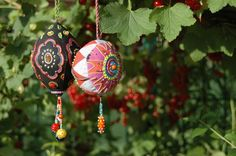 LiBellchen ornaments from the book by Hilde Klatt