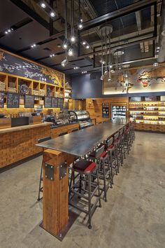 This Starbucks location is inspired by the live music capital of the world: Austin, Texas. Read more on this store here.