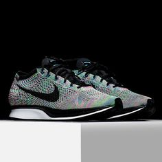 69974a22170c1 Nike Flyknit Racer Multi Color New Arrival