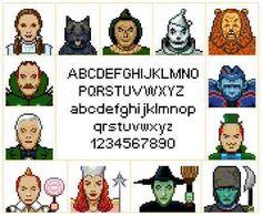 Wizard of Oz Sampler Cross Stitch Pattern