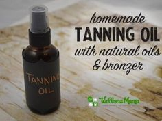 Homemade tanning oil with natural oils and bronzer 365x274 DIY Sandalwood Tanning Oil