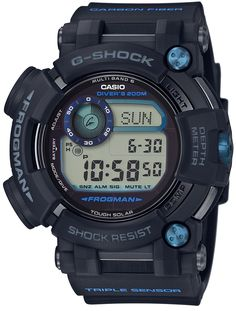 """[G-SHOCK FROGMAN]. From the G-SHOCK Master of G Series, which continues to pursue insatiable toughness and challenge the ultimate, the new """"Frogman"""" that has evolved in all directions with specifications that support underwater missions has appeared. Casio G-shock, Casio Watch, Casio G Shock Frogman, Casio G Shock Watches, Sport Watches, Watches For Men, Wrist Watches, Men's Watches, Casio Vintage"""
