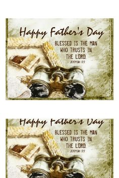 Fathers Day Jeremiah Blessed is the Man Bible Postcard fathers day gifts food, dad presents birthday, dad birthday gift diy Fathers Day Poems, 1st Fathers Day Gifts, Homemade Fathers Day Gifts, Diy Father's Day Gifts, Father's Day Diy, Fathers Day Crafts, Father's Day Breakfast, Inspirational Bible Quotes, Blessed Quotes