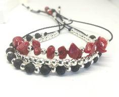 Mix and match your favorite colors. Unique Bracelets, Handmade Bracelets, Unique Jewelry, Artisan Jewelry, Handcrafted Jewelry, Layered Jewelry, Minimal Jewelry, Adjustable Bracelet, Color Splash