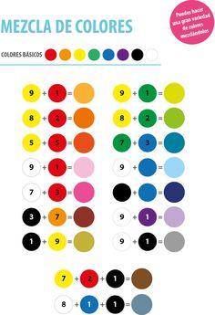 Mezcla de colores!