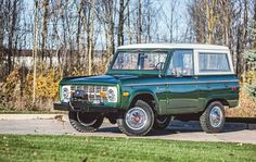 #Repost from @mecum_auctions --- This Bronco is the way to go for #BlackFriday adventures. Well this... and the #Thanksgiving leftovers. Let's be honest. . . . 1974 Ford Bronco // 302 CI Automatic . . . @tedisgraphic  . . . This 1974 Bronco is a unique example of the breed as the mileage indicated on the odometerjust 225is believed to be correct and original. Two engines were available the standard 200 CID 6-cylinder and the optional 302 V-8. This Bronco has the optional 302 CI 2-barrel V-8…