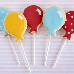 Balloons Cookies