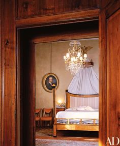 Marchesa Pucci's bed