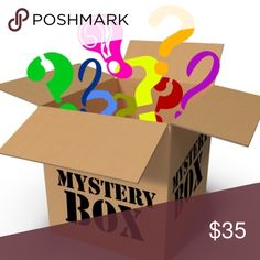 Mystery Box All Mystery Boxes Contain 4-5 items. Ranging from shirts, pants, blouses, rompers, jewelry earrings and chains. All items are new. The clothing will be the size notated in the listing! Need to downsize my inventory! This is an excellent deal! Accessories
