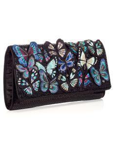 Flutter Butterfly Clutch | Multi | Accessorize
