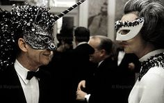 pictures of truman capote's swans | Truman Capote and the Black and White Ball