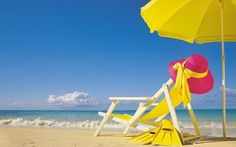Yellow summer wallpaper