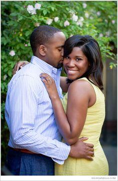 Nia + Thomas | Engaged - ElleDaniellePhotography