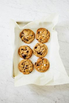 Slice-and-Bake Chocolate Chip Cookies   Hummingbird High