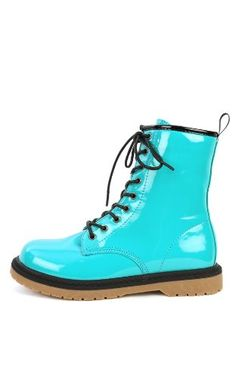 Colored Combat Boots - Boot Hto