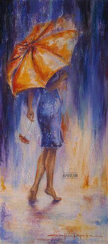 Alexandrina Karadjova ~ c.c.c~ Barefoot In The Rain