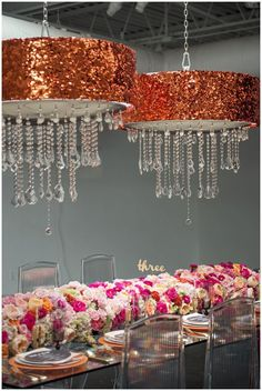 Vibrant Kate Spade inspired tablescape, designed by Candice Coppola
