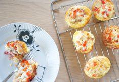 æggemuffins-grønsager-bacon