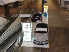 Backlit Inliten Display System used for Shopping Centre Promotions