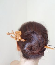 Tokyo dream cherry blossom hair stick by theancientmuse on Etsy, $35.00