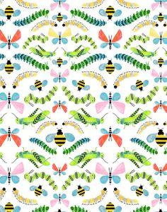 Bug pattern print