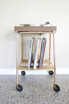 Image result for vintage turntable stand