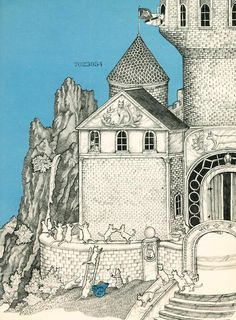 'In the Castle of Cats' by Betty Boegehold, illustrated by Jan Brett