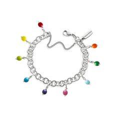 Forged Link Charm Bracelet