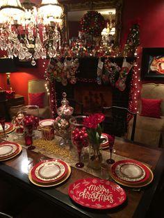 Night before Christmas dining room
