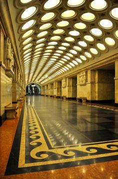metro de moscù, rusia