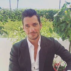 David Gandy  #DGlightblue #lightbluejourney @dolcegabbana ||  by @Grazia