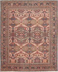 Antique Sultanabad Persian Rugs 44715 Main Image - By Nazmiyal