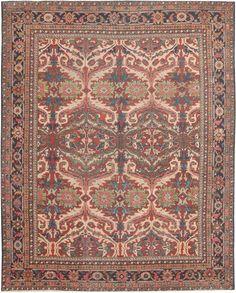 Antique Sultanabad Persian Rugs 44715 Main Image - By Nazmiyal