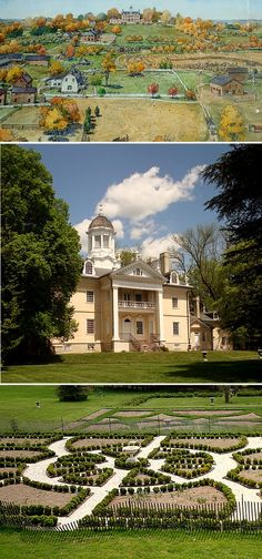Hampton mansion in Towson MD