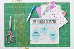 Hand piecing patchwork designs