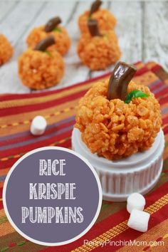 My kids and I love having fun making treats for various holidays. One of their favorite things to make (even when it is just an ordinary Tuesday) is Rice Krispie Treats. I thought I'd turn t ...