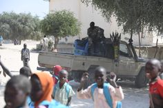 Bosso, a city in south-east Niger, faced a brutal attack from Boko Haram a few months ago. The attackers knew their way and so, the people of Bosso say, some must have been from the city. Now, only eight months later, 10.000 people have returned to the city of once 35.000. ©Frank Dejongh