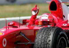 #1 Michael Schumacher... Scuderia Ferrari Marlboro...GP Francia 2004