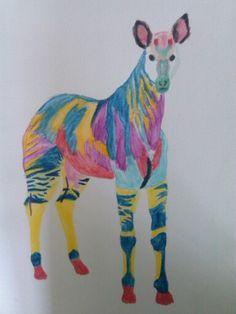Okapi watercolor Okapi, Most Beautiful Animals, Dinosaur Stuffed Animal, Watercolor, Drawings, Germany, Tattoo, Fictional Characters, Photography