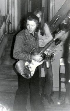 Rory Gallagher: Another great photo of Rory backstage at Cork City Hall during the making of Irish Tour Photo taken by Pat Galvin. Drunk Woman, Rory Gallagher, Odd Fellows, That One Person, Him Band, Blues Rock, Concert Posters, Jimi Hendrix, Great Photos