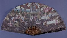 Fan - French  c.1670-1680 - The Victoria & Albert Museum