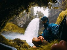 """113k Likes, 147 Comments - @gopro on Instagram: """"Photo of the Day: @thezacharysmith knows that a little rain never hurt nobody. Send us your travel…"""""""