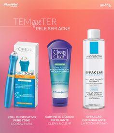 No Make It: Tem que ter: pele sem acne