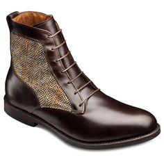 Shaker Heights - Plain-toe Blucher Lace-up Men's Dress Boots by Allen Edmonds