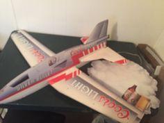 Vintage #CoorsLight #SilverBullet Jet Cardboard Hangable Price Sign Bob Bishop #beer