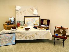 Vintage Airplane Party #vintageairplane #party