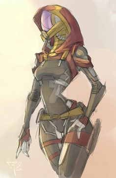 Tali'Zorah - Mass Effect ❤️