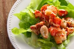 Lobster Salad by Chow. An elegant salad recipe of warm lobster tossed with tarragon butter and served over butter lettuce. Lobster Recipes, Seafood Recipes, Orzo, Lobster Salad, Lobster Food, Lobster Dishes, Shrimp Salad, Fish Dishes, Main Dishes